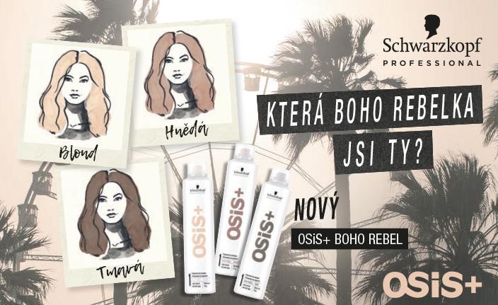 Barevné suché šampony OSiS+ BOHO REBEL