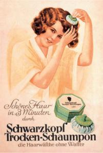 První suchý šampon Schwarzkopf